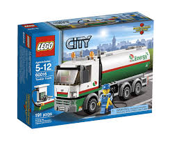 Amazon.com: LEGO City Tanker Truck 60016: Toys & Games