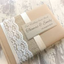 DIY Guestbook Good Idea For Any Small Lengths Of Ribbon Left From Making Invitations Etc