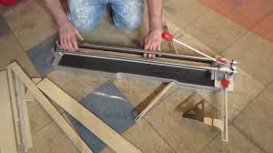 Kobalt Tile Cutter Instructions by Quick Tip Rubi Speed 92 Tile Snap Cutter Youtube