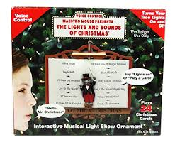 mr maestro mouse presents the lights and