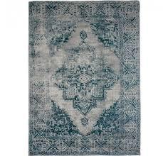 vintage teppich blau 160x230 cm