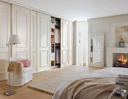 panelled wall wardrobe wohnen schlafzimmer design