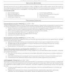 Sample Resume Administrative Of For Officer India