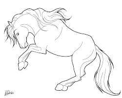 Coloriage Cheval With 53 Ideas Coloriages Chevaux Sauvages Coloriage