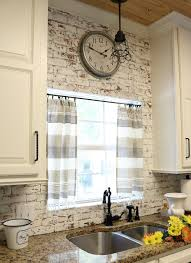 Incredible 10 Min Decor Idea Make These Curtains In No Time Sew Farmhouse Kitchen The Post
