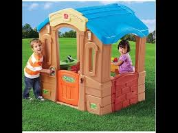 Step2 Happy Home Cottage U0026 step 2 play up picnic cottage review and assembly part 1 of 3