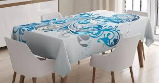 abakuhaus tischdecke personalisiert farbfest waschbar für den außen bereich geeignet klare farben sternzeichen wassermann scroll
