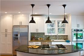 kitchen with pendant lighting island glass and 7 on category