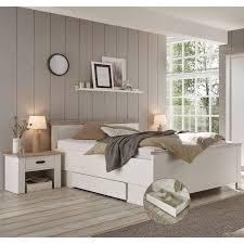 schlafzimmer kombination mit liegefläche 140x200 cm ferna 61 inkl bet