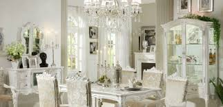 White Classic Dining Room Ideas