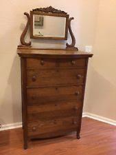 Tiger Oak Dresser Chest by Antique Dresser Mirror Ebay