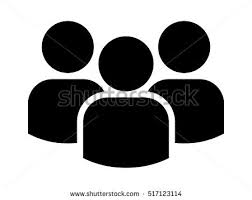 Group Of People Or Users Friends Flat Icon For Apps And Websites