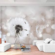 fototapete pusteblumen beige 352 x 250 cm vlies wand tapete