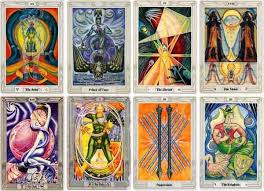 aquarian tarot deck tarot card decks through history