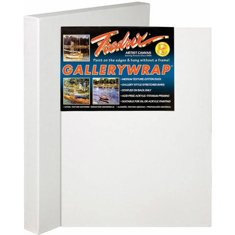 Tara/fredrix 5092 Artist Series Gallerywrap Canvas 48x60 1-3/8 Bars