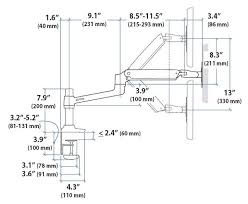 Lx Desk Mount Lcd Arm Manual by Ergotron Lx Desk Mount Lcd Arm Mounting Kit Articulating Arm