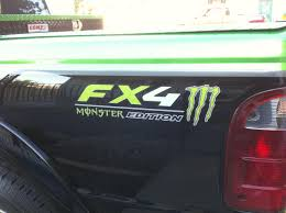 100 Ford Truck Decals Product 2 FORD FX4 F150 F250 F350 MONSTER Edition TRUCK