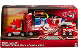 100 Disney Cars Mack Truck Hauler Pixar 3 Playset Mattel Toys ToyWiz