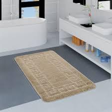badezimmer teppich bordüre versch größen u farben