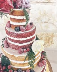 A Rustic Wedding Deserves Multi Flavor Open Layer Naked Cake By 2tarts Bakery