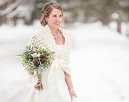 Wedding Shawl Bridal Cape Winter Shrug Ivory