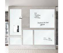elegantes whiteboard glas ohne rahmen schlagfest dayton de