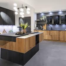 individuell küche altholz schwarzstahl häcker küchen