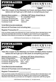 Oberweis Restaurant Fundraiser