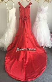 aliexpress com buy red simple but elegant dress for wedding
