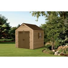 Suncast Vertical Shed Manual by Suncast Hybrid Cedar And Resin Garden Storage Shed U2014 Best Of Both