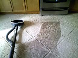 best way to clean ceramic tile floor grout