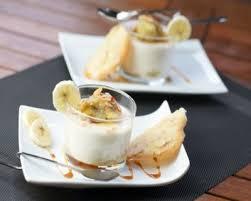 recette dessert simple léger light à la banane facile rapide