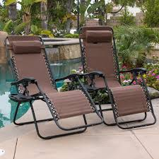 Details About 2PC Brown Zero Gravity Lounge Chairs Recliner Outdoor Beach  Patio W/ Cup Holder Phi Villa Outdoor Patio Metal Adjustable Relaxing Recliner Lounge Chair With Cushion Best Value Wicker Recliners The Choice Products Foldable Zero Gravity Rocking Wheadrest Pillow Black Wooden Recling Beach Pool Sun Lounger Buy Loungerwooden Chairwooden Product On Details About 2pc Folding Chairs Yard Khaki Goplus Wutility Tray Beige Headrest Freeport Park Southwold Chaise Yardeen 2 Pack Poolside