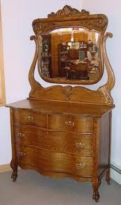 antique oak serpentine front mason jars pinterest antique