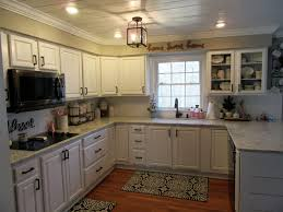 100 Split Level Project Homes Bright White FarmhouseStyle Inspired Kitchen In A Classic