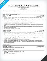Office Clerk Resume Examples 17 Fantastic Sample Resumes For Clerical Positions Isale Of 25 Download