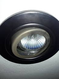 how to change recessed lighting with gu10 light bulb home