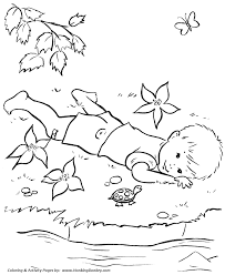 Farm Fun And Family Coloring Page