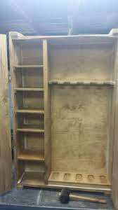 Diy Gun Cabinet Plans by Corner Gun Cabinet Plans Design Best Home Furniture Decoration