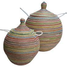panier à linge vannerie africaine ea deco naturel design
