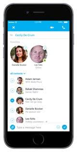 Skype for iPhone was updated on Wednesday to version 5 9 bringing user interface improvements to both the dial pad and new chat picker
