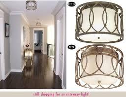 unique flush mount hallway lighting 98 best images about light