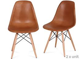 Eames DSW Chair Leather (Platinum Replica) X2 $239 Sale ...