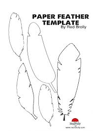 Turkey With Handprint Feathers Printable Feather Coloring Pages Outline Template