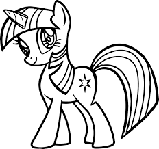 My Little Pony Coloring Pages Princess Luna Filly Of 9