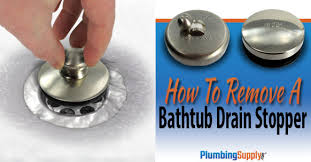 Bathtub Drain Stopper Stuck In Closed Position by Diy How To Remove A Bathtub Drain Stopper