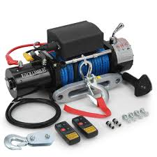 Voilamart 13000LBS 12V Electric Recovery Winch Rope Hoist With ... Scale Accories Winch Alu Rcoffroad 110 Silver Rcmodelex Rc Wching And Vehicle Recovery Youtube Metal Front Bumper W Mount Led Light For Traxxas Trx4 1 Rescue Your Stuck Scaler Truck Stop Servo By Bowhouse Bwhbtx0040c Ssd Ox Power Ssd100 Rock Crawlers Amain Hobbies Warn Tutorial Dc Electric Rc4wd D90 D110 Dca Car Mini Capstan Axial