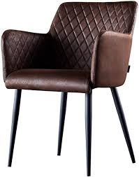 damiware stuhl design wohnzimmerstuhl esszimmerstuhle bürostuhl mit leder optik stoffbezug burgundy