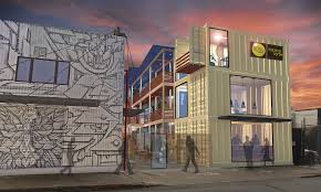 100 Shipping Containers San Francisco You Can Now Rent An Office In A Container Share Your Office