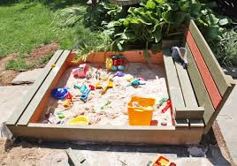 DIY Sandbox With Lid & Benches | Stately Kitsch Sandbox With Accordian Style Bench Seating By Tkering Tony How To Make A Sandpit Out Of Stuff Lying Around The Yard My 5 Diy Backyard Ideas For A Funtastic Summer Build 17 Plans Guide Patterns In Easy And Fun Way Tips Fence Dog Yard Fence Important Amiable March 2016 Lewannick Preschool Activity Bring Beach Your Backyard This Fun The Under Deck Playground Between3sisters Yards